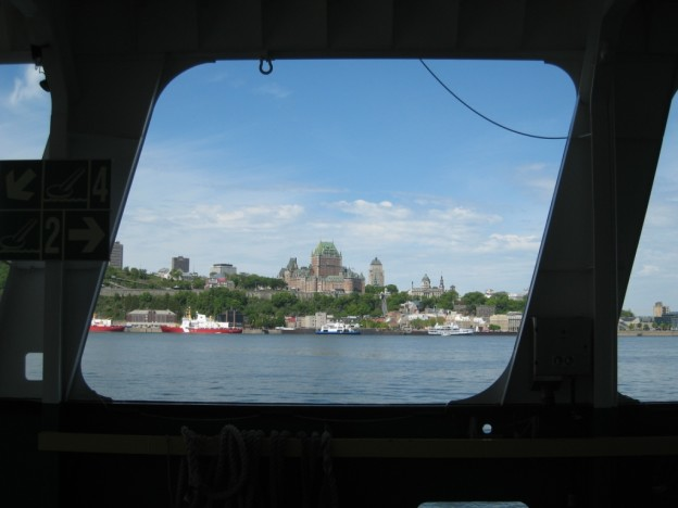 Ferry to Old Quebec